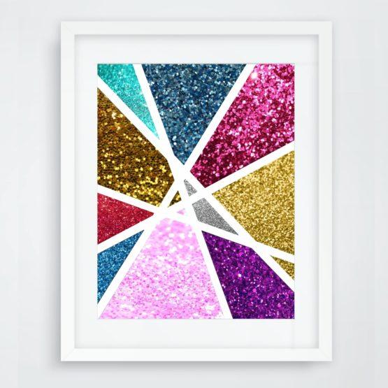 sparkle wall art