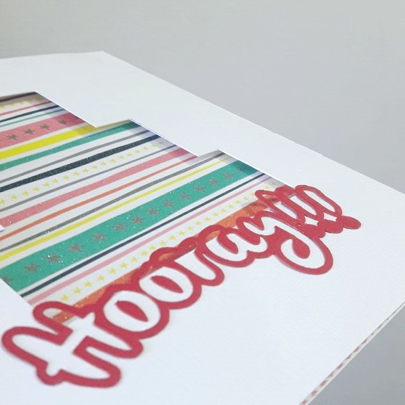 hooray handmade greeting card