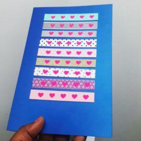 blue love greeting card 1