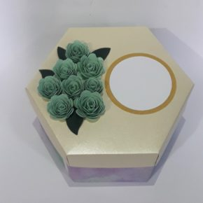 Hexagon gift box