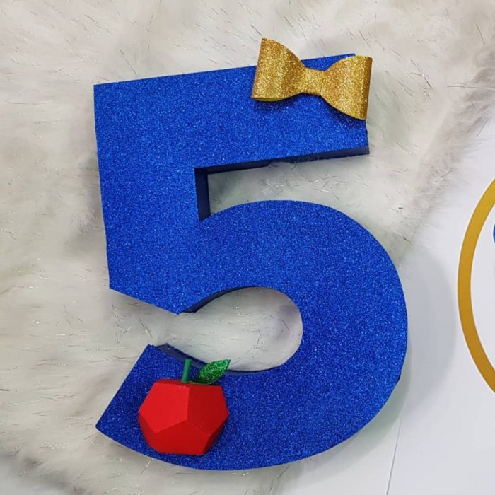 5 3D number prop